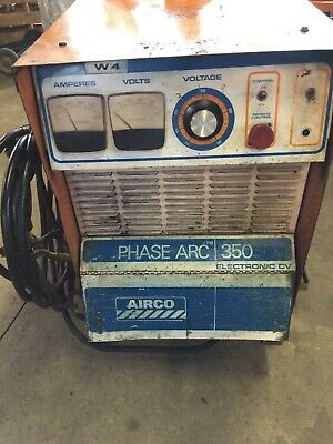 Airco Phase Arc 350 Electronic Cv Welding Machine