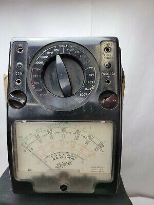 Vintage Hickok Model 455 Volt-ohm-mulliammeter Rare