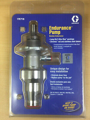 Graco Endurance Pump Lower 17c718 For 390 395 490 495 595