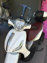 2014 Piaggio BV 350 - unique white/Maroon colour combo Mosman Mosman Area Preview
