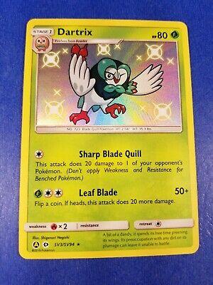 Noibat SV43//SV94 Hidden Fates Shiny Vault TEXTURED HOLO Pokemon Card NEAR MINT