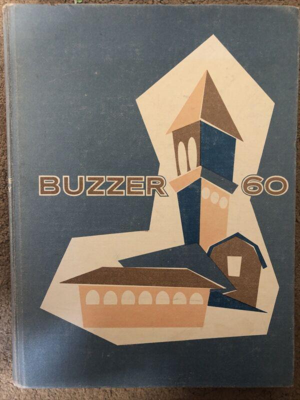 1960 Utah State University Buzzer Yearbook USU, Logan Utah (1959-60)