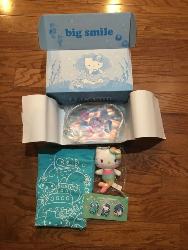 Sanrio X Loot Crate Box (Splash) ~~ NIB!