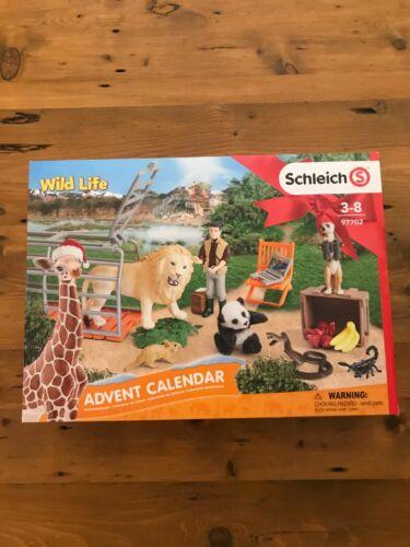 Schleich Wild Life Advent Calendar Set New 97702