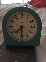 Bai Designer Pick-Me-Up Alarm Clock, Cyber Aqua. BAI.554.CA
