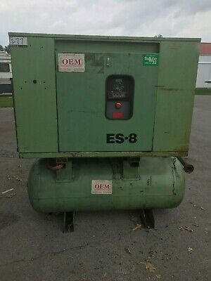 Sullair Es8 Es-8 Rotary Screw Compressor 15hp 15 Hp
