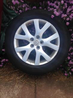 Wheel only to suit 2007 Mazda CX-7 Luxury ER Series 1 4WD