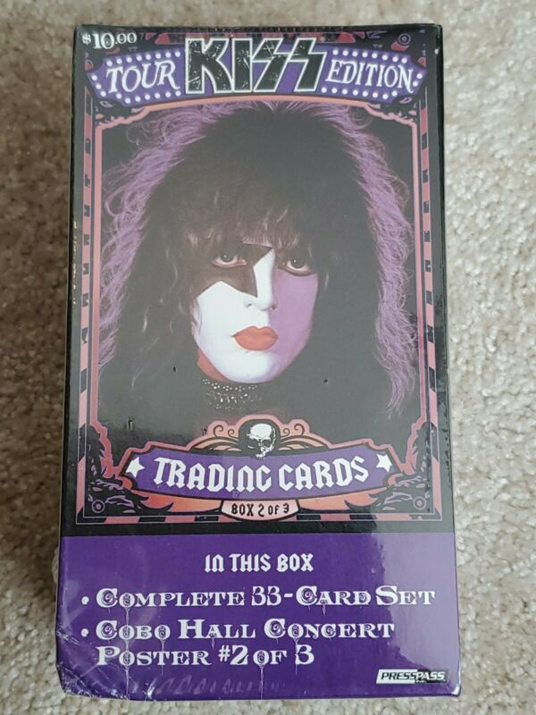 2009 Press Pass  KISS TOUR EDITION  Trading Card Blaster Poster #2  PAUL STANLEY