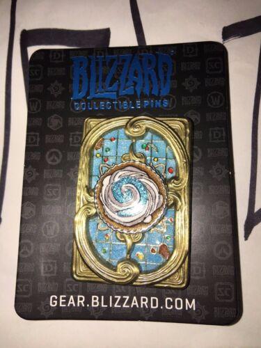 (1) Blizzard Hearthstone Fireside Gathering pin 2017 - BLIZZCON - CUPCAKE Style