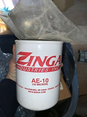 Hydraulic Oil Tank Return Filter Assembly Zinga Ae-10 Micron With 34 Npt Head