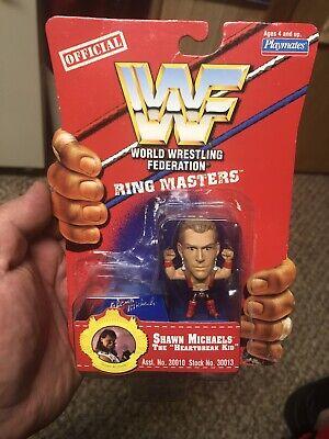 Sean Michaels WWF(World Wrestling Federation Ring Masters WWE Wrestlemania Hbk