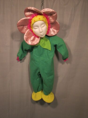 Incharacter Pink Flower Baby Infant Halloween Costume Medium
