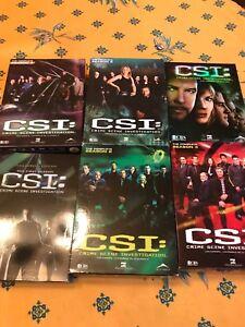 CSI Les Experts saison 1 à 6