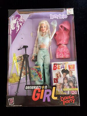 Dance Party #25766  NRFB BARBIE GENERATION GIRL Mattel