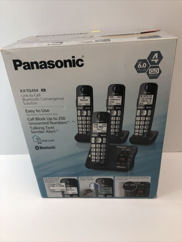 Panasonic KX-TG454SK Link To Cell Bluetooth Convergence Solution