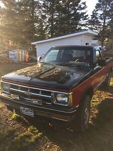 1992 S10 4X4 Extended Cab tahoe