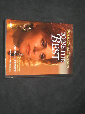 To Be the Best - Barbara Taylor Bradford (DVD, (Barbara Taylor Bradford To Be The Best)