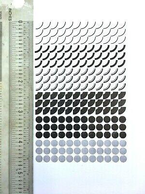 Letterpress Type -18pt. Circular Things Part Deux