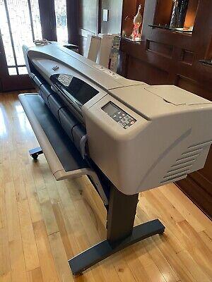 Hp Designjet 500 42 Inch Roll Printer 3x Roll Paper