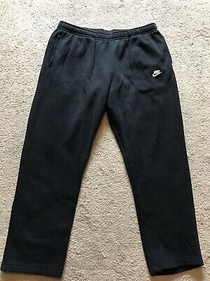 EXCELLENT USED CONDITION Men's Black NIKE Sweat Pants With Pockets Size 3XL