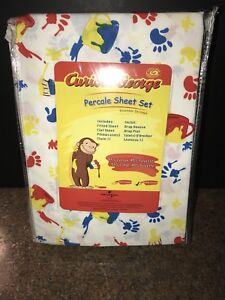 Curious George Double Sheet Set
