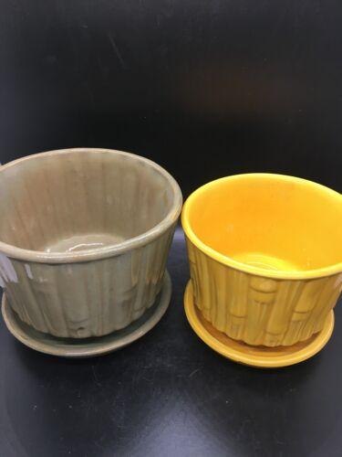 McCoy Pots & Saucers