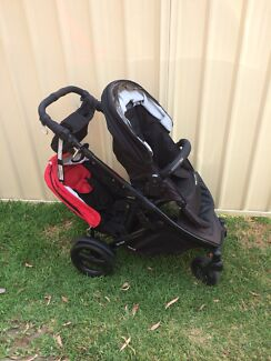 Strider Compact Double Pram - will swap or sell!