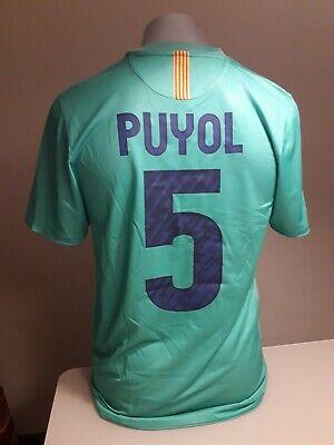 Original Camiseta fc barcelona puyol barça messi nike shirt maglia