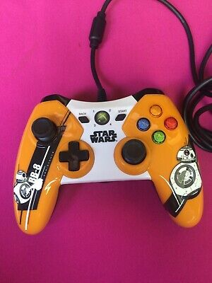 Limited Edition, Star Wars BB-8 Xbox 360 Wired Controller, Official, used for sale  Shipping to Nigeria