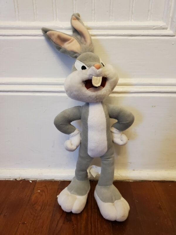 Bugs Bunny Stuffed Plush Looney Tunes Nanco 2003 Stuffed Animal 18 Inch Tall