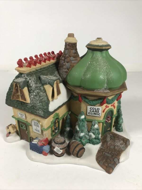 Department 56 North Pole series Elfland COLD CARE CLINIC lighted #56.56703