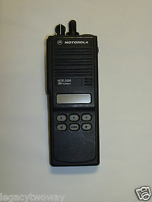 Motorola Mts2000 Model Ii Portable 800mhz Smartnet Rebanded Model H01ucf6pw1bn