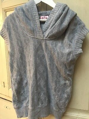 Juicy Couture grey sleeveless tank top Age 12