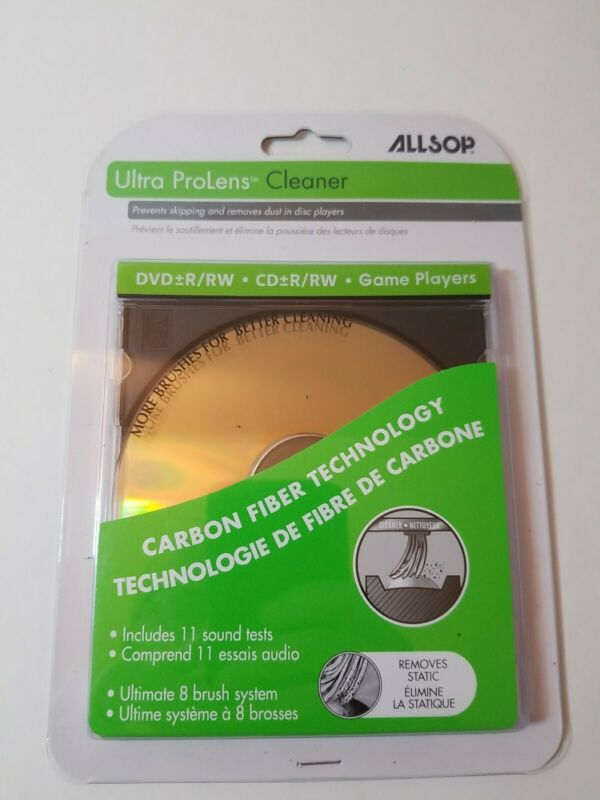 Allsop Ultra ProLens Cleaner for DVD, CD Drives, and Game Players 23321