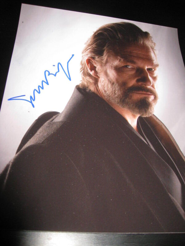 JEFF BRIDGES SIGNED AUTOGRAPH 8x10 PHOTO TRON LEGACY PROMO COA AUTO RARE NY E