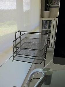 Desk In-Trays metal Hepburn Springs Hepburn Area Preview