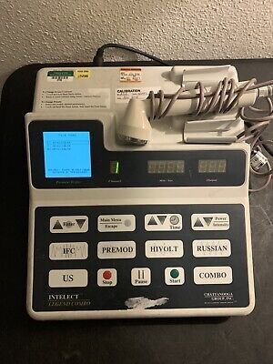 Chattanooga Intelect Legend Combo Therapy Ultrasound System 30 Day Warranty