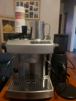 Sunbeam cafe series precision coffee grinder great condition sunbeam coffee machine and grinder for sale fandeluxe Gallery
