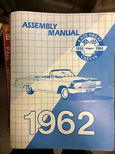1962 chev assembley manual