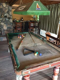 7ft luxury slate solid timber billiardspool table other sports slate billiard table poolsnooker needs recloth authentic light greentooth Image collections