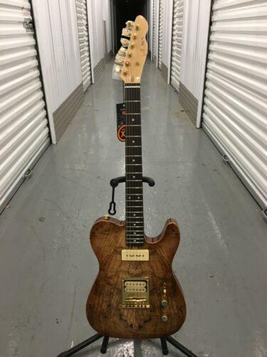 Brand New MAZETI AE-204 electric guitar, Body-Spalded Maple Top, Mahogany back,