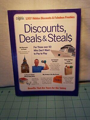 Reader's Digest - Discounts, Deals & Steals Paperback Book, Good Shape from 2011 - Discount Bible