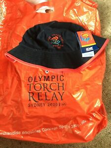 Sydney 2000 Olympic Torch Relay bucket hat Seddon Maribyrnong Area Preview