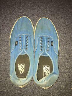 BLUE VANS MENS US 10 $5 Underwood Logan Area Preview