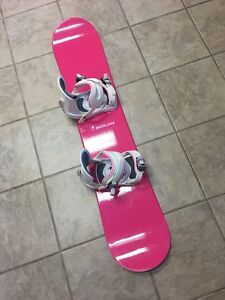 Snowboard SNOWJAM Shocking 120 cm with Bindings Excellent cond.