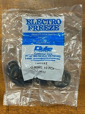 Electro Freeze Hc160582 O-rings O Rings Set Of 10 10 Pack 160582 Oem