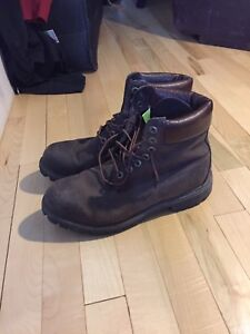 Timberland Vintage(look) winter boots Brown barely worn.
