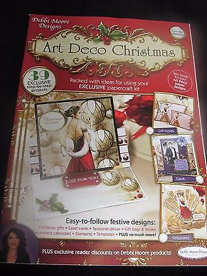 LIMITED EDITION~DEBBI MOORE~ART DECO CHRISTMAS MAGAZINE~32 PAPERS~39 PROJECTS~
