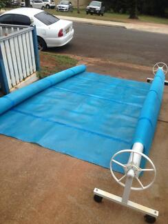 Pool Cover with reel 10X5