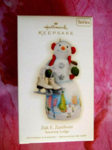 Yr 2009 Hallmark,ZAK E. ZAMBONI,SNOWTOP LODGE,#5 IN SERIES